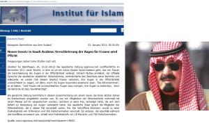 Claudia Bandion-Ortner - Eine schwarze Brille als Schleier; König Abdullah ist ein aufgeklärter Mann