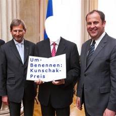 Leopold Kunschak Preis umbenennen