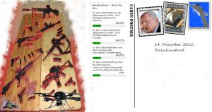 Steuergeldgabentisch Rüstungsindustrie - Volksbefragung 20-01-13