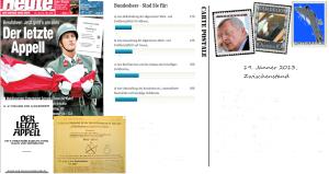 Volksbefragung 20-01-13 Zwischenstand Umfrage