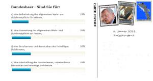 Volksbefragung 20-01-2013 - Für 52% keine Fragen