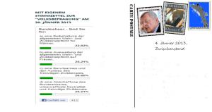 Volksbefragung Umfrage Zwischenstand 4-1-13