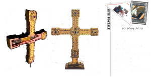 Kreuz Christi - Lanzenscheide