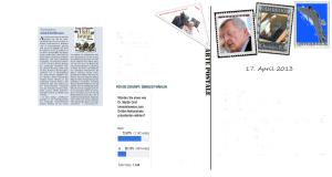 Freiheitliche Geschichtsschreibung - Später und Früher