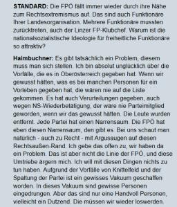 Manfred Haimbuchner Der Standard 10-05-2013