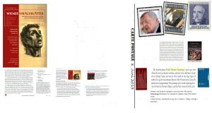 Freiheitliches Haupt mit Wiener-Sprachblätter-Unzensuriert-Zur Zeit-Eckartschriften-Kranz