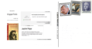 Joachim P steht für Joachim Peiper