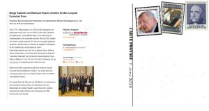 Leopold-Kunschak-Preise 2013 - Wieder kein Verzicht