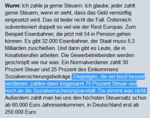 Erwin Wurm - 75 Prozent