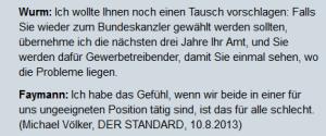 Erwin Wurm Bundeskanzler