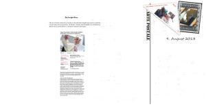 Georg Hoffmann Ostenhof ist bescheidener als Papst Franziskus