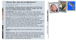 Glavinic Strache - Sommerinterview