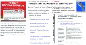 Frank Stronach Hochwasserhilfe Spendengeld