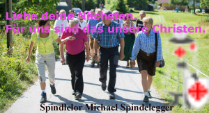 Michael Spindelegger - Liebe deinen Nächsten
