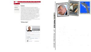 Freiheitlicher ZZler Walter Tributsch, Burschenschaftssprecher und Freund von Björn Clemens