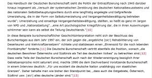 Stramm rechts - Deutsche Burschenschaften - Entnazifizierung