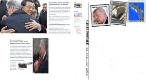 Heinz Fischer - Ausgelassener Kniefall