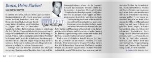 Heinz Fischer - Freiheitliches Lob für Nichtreise