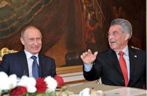 Heinz Fischer - Vladimir Putin