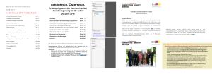 Regierungsprogramm 2008 - 2018 ÖVP SPÖ