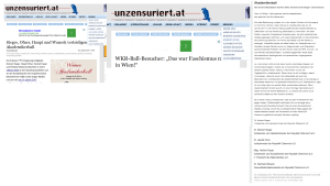 Akademikerball - Faschismus in Wien -