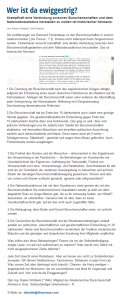Die Presse - Küssel - Arminia - Wolbank - Burschenschaften