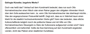 Barbara Rosenkranz - Gefrage Politikerin - Wählbare Programme Fragezeichen