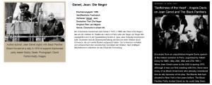 Wiener Festwochen Black Panthers Jean Genet