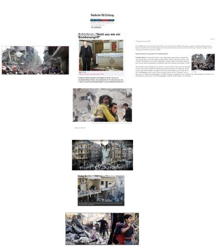 Christoph Schönborn - Sachbeschädigung ist gleich Bombenangriff in Syrien