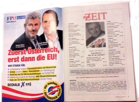 FPÖ wirbt mit Andreas Mölzer für EU-Wahl 11-04-2014