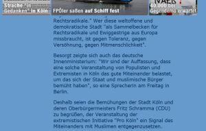 Freiheitliche Gemein-Schaft - Köln