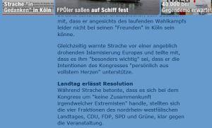 He-Chr Strache - Freunde - keine Extremisten
