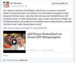 Informationsnullwert - He-Chr Strache
