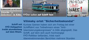 Pro Harald Vilimsky in Köln