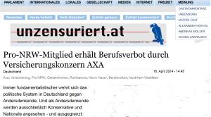 Unzensuriert - Pro NRW - Kevin Hauer