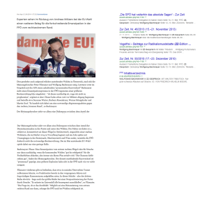 Wolfgang Bachmayer - Von den willfährigen Experten der freiheitlichen Gemein-Schaft