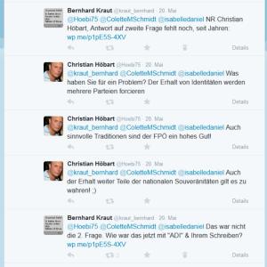 Christian Höbart - zweite Frage