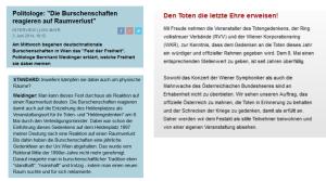 Bernhard Weidinger - Burschenschaften - Schlüsselberger