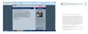 Rechte Flyer - Korrigierte Aussendung der Polizei gefunden