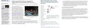 Volksanwaltschaft - Collage der geklärten Fragen