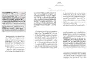 Brief der 800 unterbergerischen Persönlichkeiten