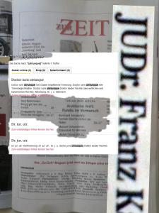 Plumpes Spiel mit dem Antisemitismus - Zur Zeit 31-32 - 1-14-August-2014