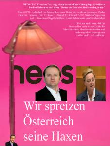Das Kanzlerprogramm des Sepp Schellhorn