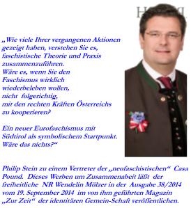 """Tabu-Schlagzeile in Österreich: """"FPÖ - 'Wiederbeleben des Faschismus'"""""""