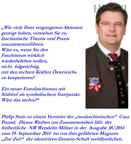 Faschismus wiederbeleben - Zur Zeit FPÖ - NR Wendelin Mölzer