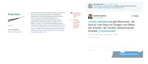 Parlamentarische Anfrage - Antwort von Gerhard Deimek - freiheitlicher NR