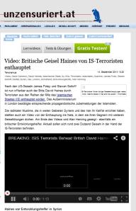 Werbemordvideo - Verbreitet durch freiheitliche Unzensuriert