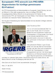 FPÖ - Pro NRW - Identitätsraub