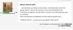 FPÖ Unzensuriert - Baukräne hochgefahren