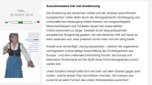 FPÖ Unzensuriert Menschenfresser
